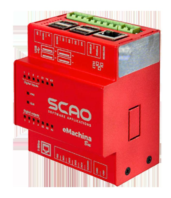 emachina box: dispositivo collegamento macchine utensili